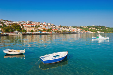 The town of Koroni, southern Greece