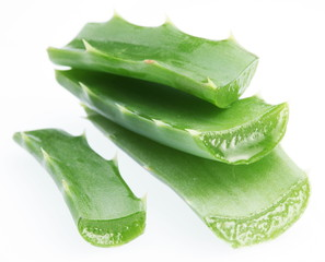 Pieces of aloe vera