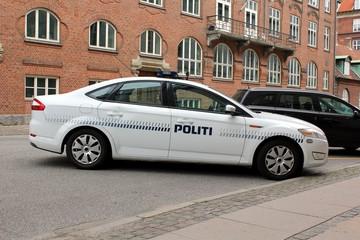 Copenhagen Police Car
