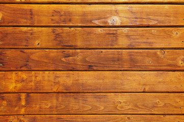Warm colored wooden boarding texture
