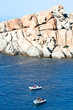 Dinghies At Capo Testa, Sardinia