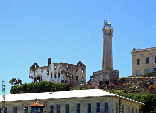 San Francisco's Alcatraz Island Guard Tower