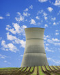cooling tower of nuclear station