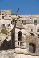 Maria SS. delle Virtù Belltower Church. Matera. Basilicata.