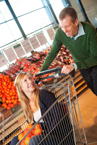 Grocery store activities for adults