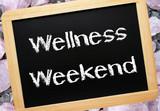 Wellness Weekend - Relax Concept poster