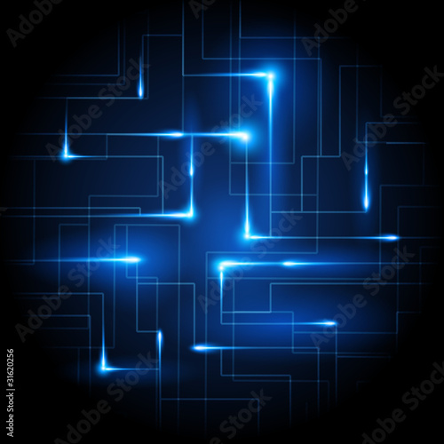 Business Connected Vector