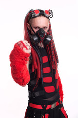 Male Gothic Model Fist