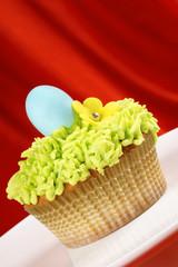 Fancy Easter cupcake