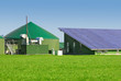 Leinwanddruck Bild - Biogas- und Photovoltaikanlage 046
