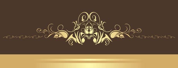 Decorative border. Vector