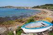 tresco boat and beach