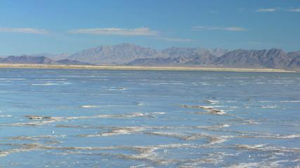 Flat Lands of a Vast Salt Lake