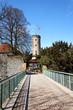 Eingang zur Sparrenburg in Bielefeld, Deutschland