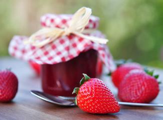 Erdbeeren,Konfitüre