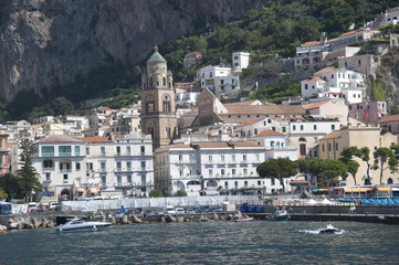 Amalfi on the Bay of Salerno in Campania Southern Italy