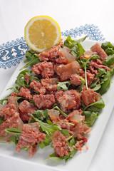 Insalata con carne di manzo - Beef and salad