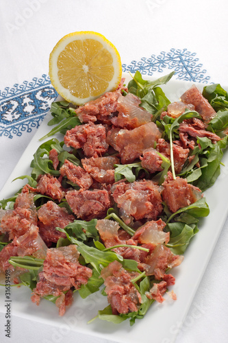 Insalata con carne di manzo - Beef and salad
