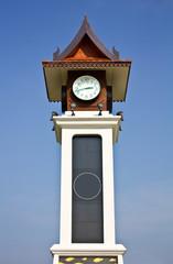 Thai style clock tower