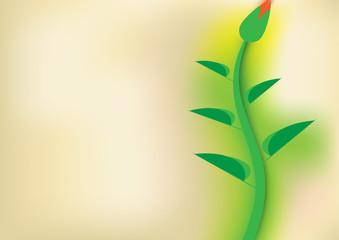 vector blurred floral background