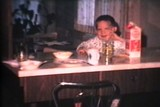 Kids Having Breakfast (1966 - Vintage 8mm film)