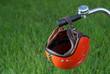 DDR Helm an Lenker