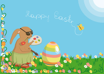 cool_easterbunny_background