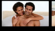 Montage of cute couples having fun
