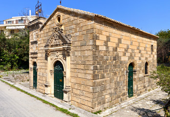 Old church at Zakynthos island in Greece