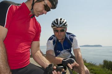 Radfahren mit Navigation