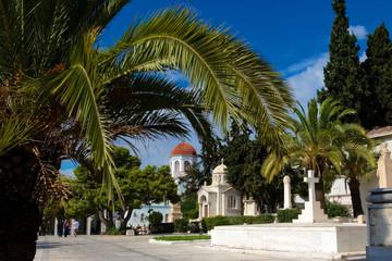 Кладбище в Афинах