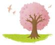 クレヨンの木 春
