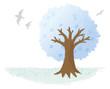 クレヨンの木 冬