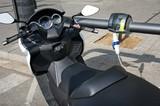Motorbike electro charging poster