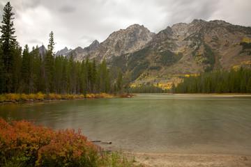 Leigh Lake in Grand Teton National Park, Wyoming
