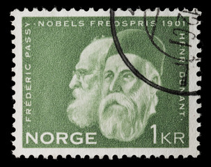 Nobel peace prize 1901