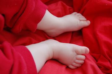 słodkie małe stópki