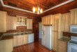 Home Kitchen with Wood Interior