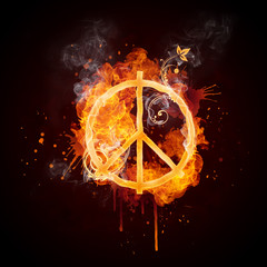 Fire Swirl Pacifism