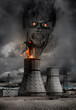 Nuclear power plant accident