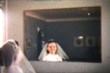 Teenage Girl Prepares For Confirmation (1958 Vintage 8mm film)