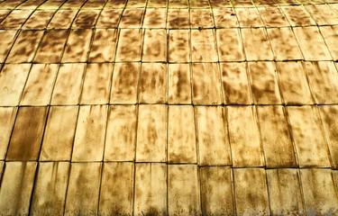 Fragment rusty wall