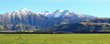 southern alpine alps in New Zealand