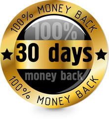 30 days maney back
