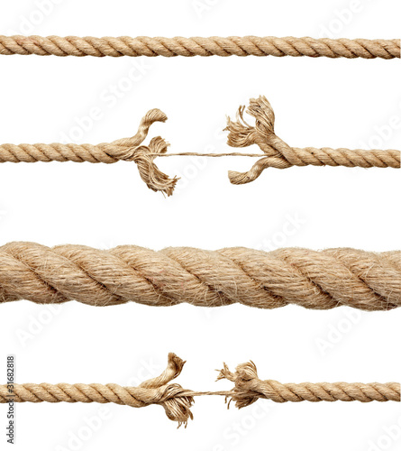rope string risk damaged