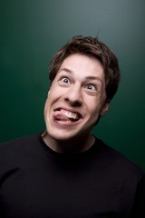 Man Making A Silly Face