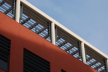 façade  ocre