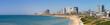 Tel-Aviv beach panorama.Jaffa. Israel.