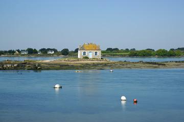 maison sur l'île