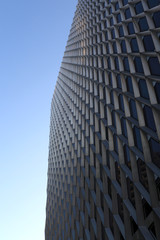 corner of skyscraper